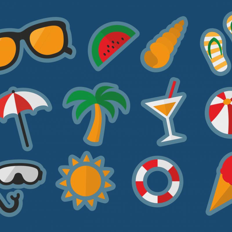 夏休みの家族旅行に関する調査